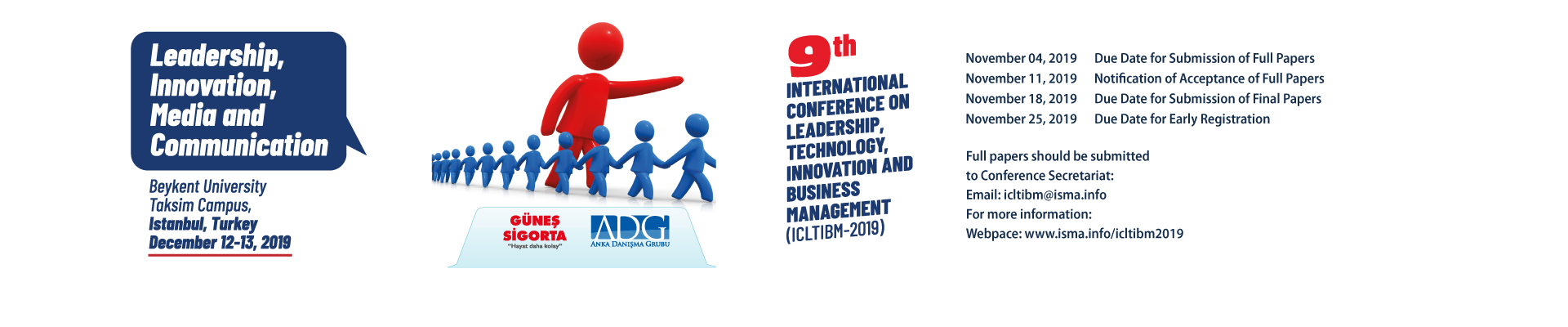 9th International Conference on Leadership, Technology, Innovation and Business Management 2019 (ICLTIBM-2019)